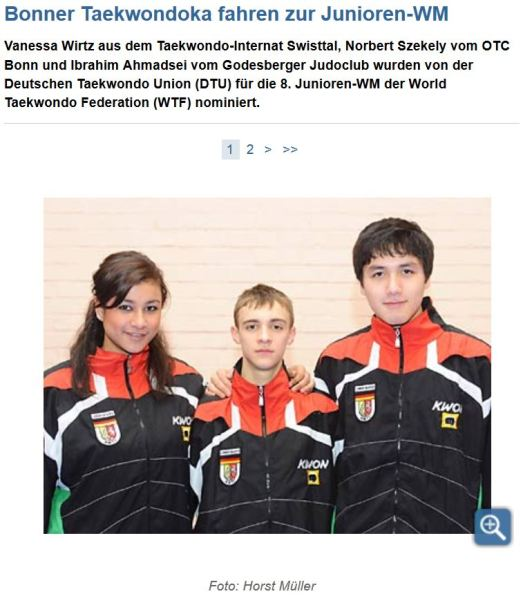 Bonner_Taekwondoka